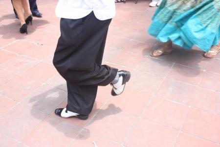 Il ballerino di Plaza Coyocàn.