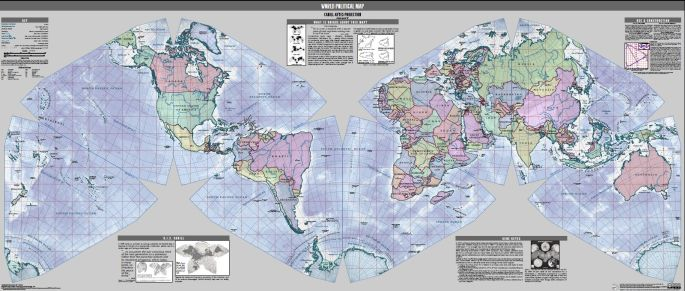Get to Know a Projection: Gene Keyes' 40-Year Quest for the Perfect Map - Wired Science