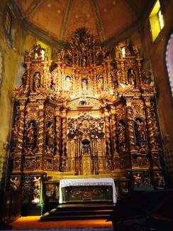 L'altare della chiesa di San Martino