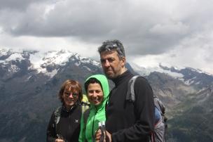 Barbara, Angela e Giuseppe