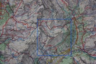 Mappa Vascoccia - Col di Nana