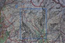 Mappa della salita al Colle Superiore delle Cime Bianche