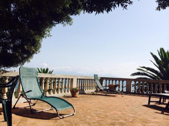 Terrazza sul mare di Villa Bengodi