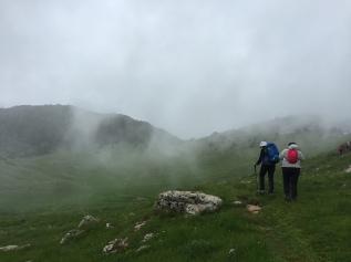 10. In cammino nelle nuvole