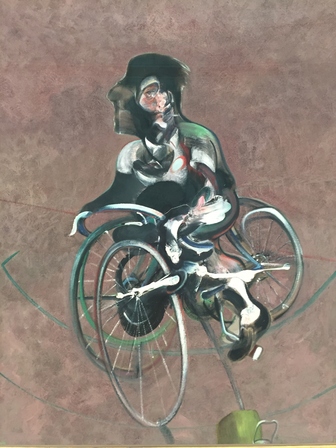 Un'opera di Francis Bacon alla Fondation Beyeler