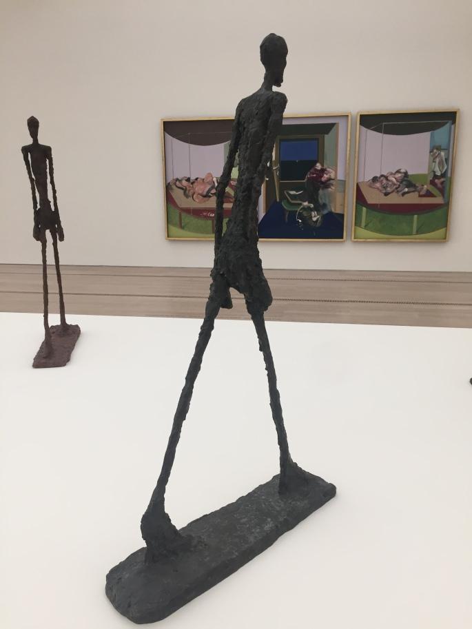 Homme qui Marche di Alberto Giacometti