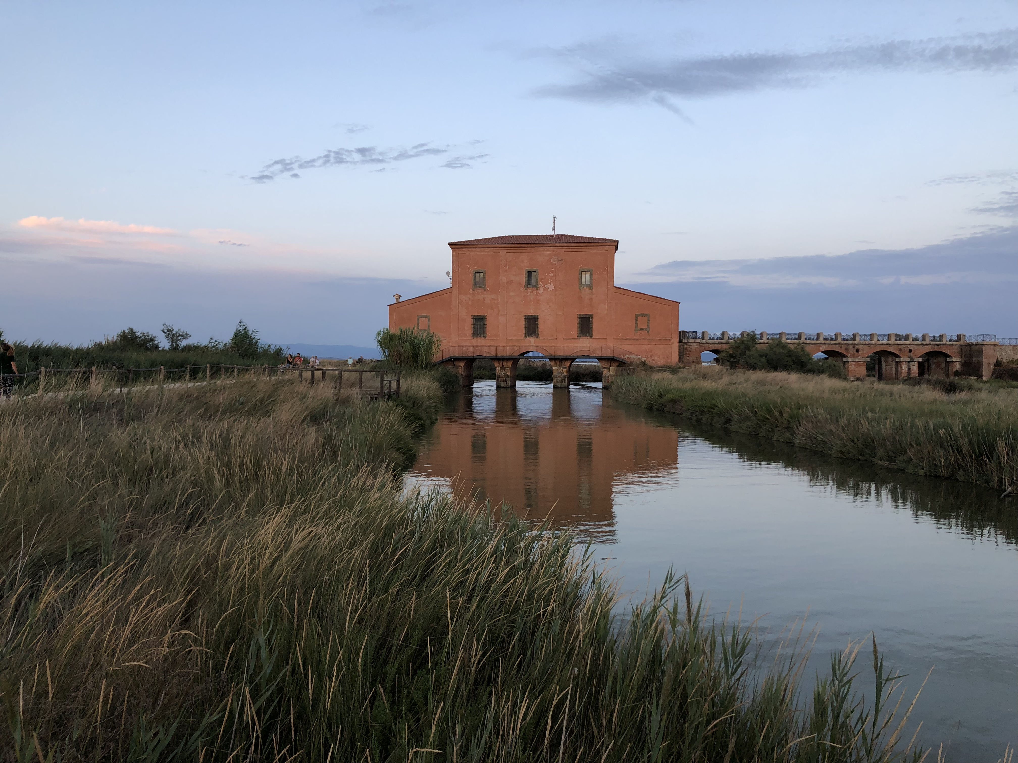 La Casa Rossa Ximenes nella Riserva Naturale Diaccia Botrona