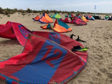 Kyte Surf sulla spiaggi tra CVele da Kyte Surf sulla spiaggia tra Castiglione della Pescaia e Marina di Grosseto
