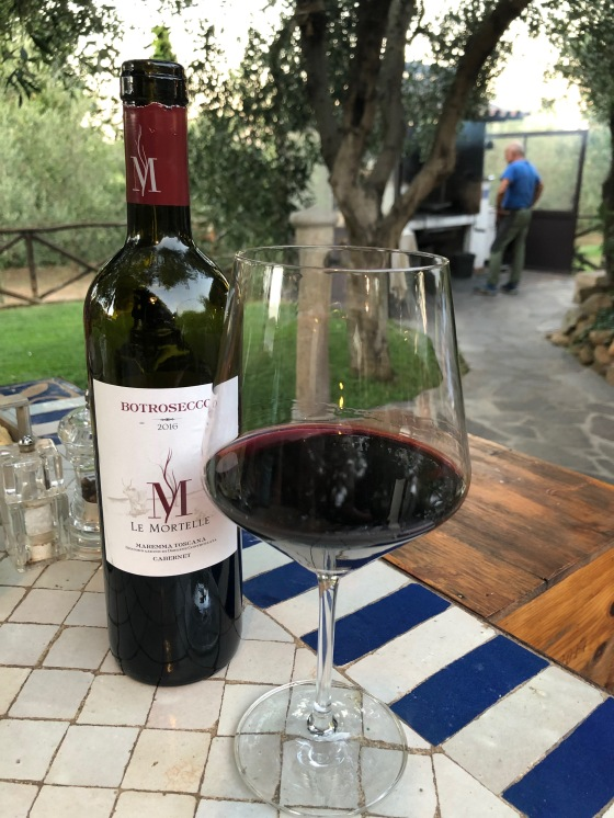 Botrosecco - Maremma Toscana doc della cantina Le Mortelle